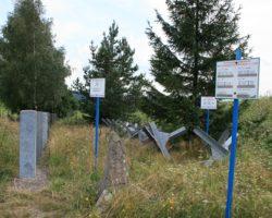 bariéry v okolí pevnosti
